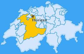 Karte von Thörigen