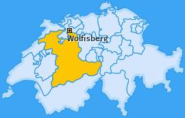 Karte von Wolfisberg