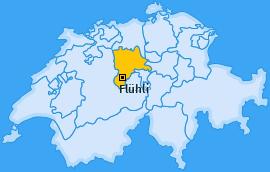 Karte von Flühli