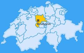 Karte von Romoos
