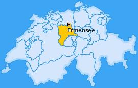 Karte von Ermensee