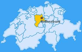 Karte von Rothenburg