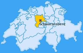 Karte von Schwarzenberg