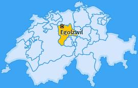 Karte von Egolzwil