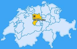 Karte von Willisau