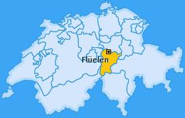 Karte von Flüelen