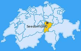 Karte von Seedorf (UR)