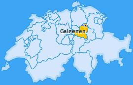 Karte von Galgenen