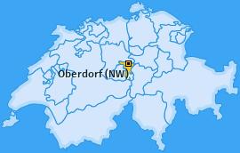 Karte von Oberdorf (NW)