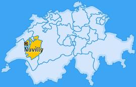 Karte von Nuvilly