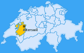 Karte von Alterswil