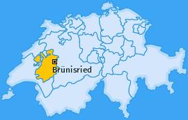 Karte von Brünisried