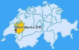 Karte von Saint-Martin (FR)