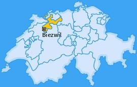 Karte von Biezwil