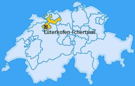Karte von Lüterkofen-Ichertswil