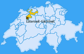 Karte von Lüterswil-Gächliwil