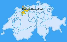 Karte von Hofstetten-Flüh