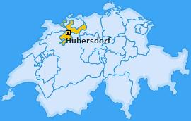 Karte von Hubersdorf
