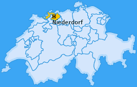 Karte von Niederdorf