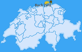Karte von Buch (SH)