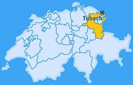 Karte von Tübach