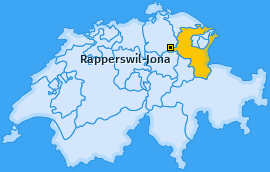 Karte Wagen Rapperswil-Jona