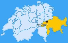 Karte von Andiast