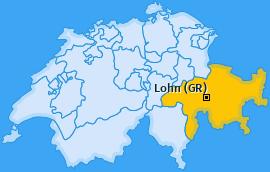 Karte von Lohn (GR)