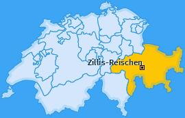 Karte von Zillis-Reischen