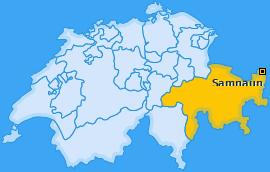 Karte von Samnaun