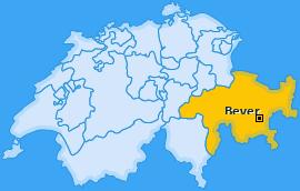 Karte von Bever