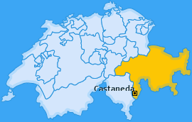 Karte von Castaneda