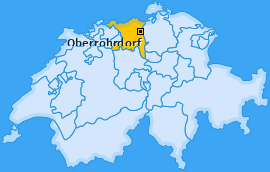 Karte von Oberrohrdorf