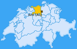 Karte von Arni (AG)
