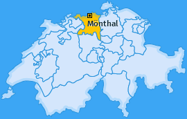 Karte von Mönthal