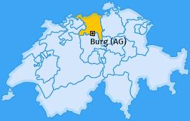 Karte von Burg (AG)