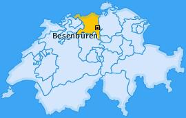 Karte von Besenbüren