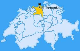 Karte von Full-Reuenthal