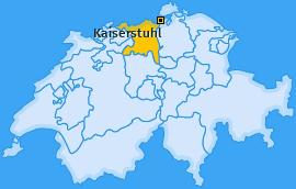 Karte von Kaiserstuhl