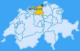 Karte von Mellikon