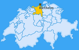 Karte von Rietheim