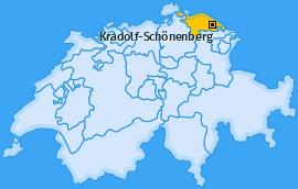 Karte von Kradolf-Schönenberg