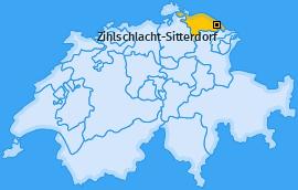 Karte von Zihlschlacht-Sitterdorf