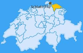 Karte von Schlatt (TG)