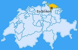Karte von Eschlikon