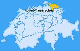 Karte von Tobel-Tägerschen