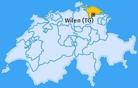 Karte von Wilen (TG)