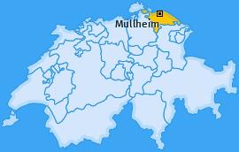 Karte von Müllheim