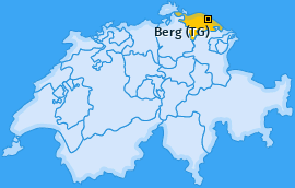 Karte von Berg (TG)
