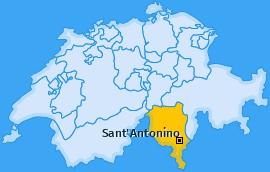 Karte von Sant'Antonino